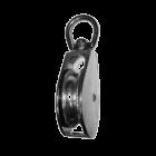 Блок одинарный металлический (никель)