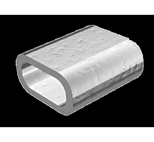 Зажим для стальных канатов алюминиевый